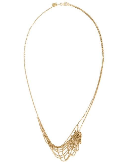 Wouters & Hendrix | Metallic 'tangled Web' Necklace | Lyst