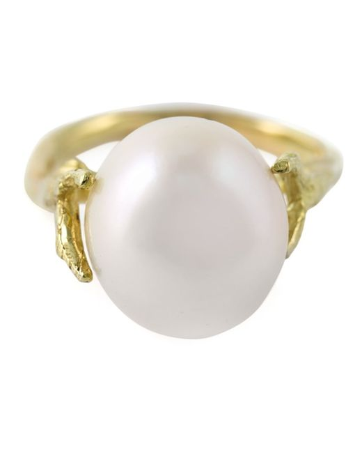 Wouters & Hendrix | Metallic 'pearl' Ring | Lyst