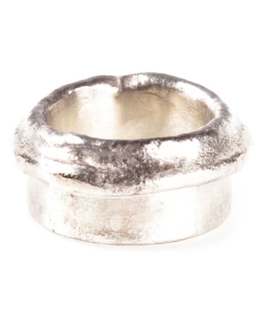 1-100 | Metallic Ring | Lyst