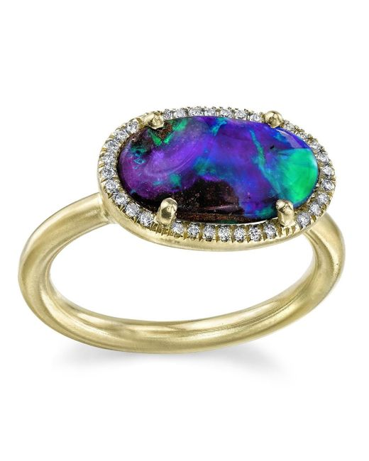 Irene Neuwirth | Blue Opal Ring | Lyst