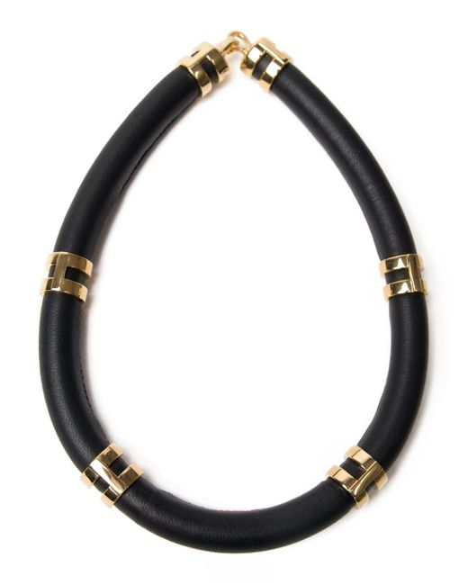 Lizzie Fortunato | Black 'double Take' Necklace | Lyst