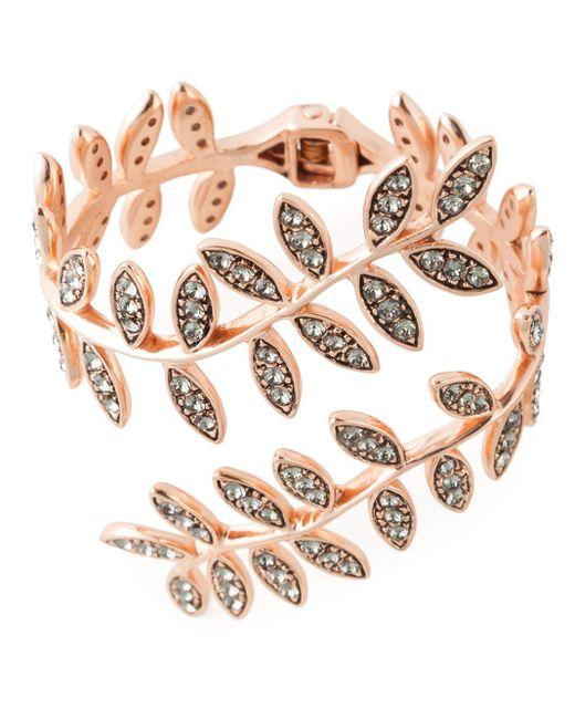 Ca&Lou | Metallic 'anna' Wrap Around Bracelet | Lyst