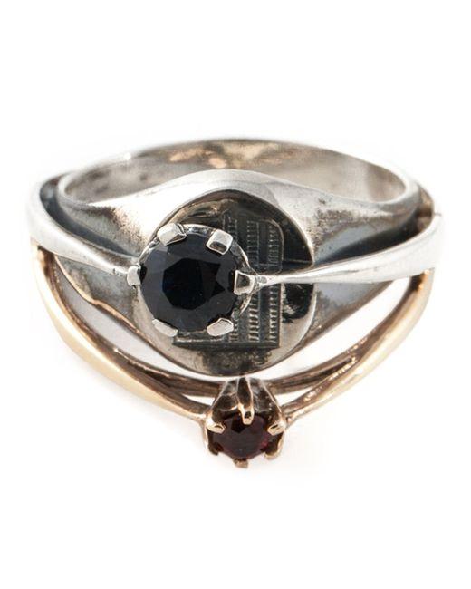Puro Iosselliani | Metallic Signet Ring | Lyst