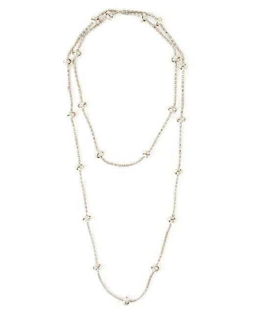Lara Bohinc | Metallic 'knot' Necklace | Lyst