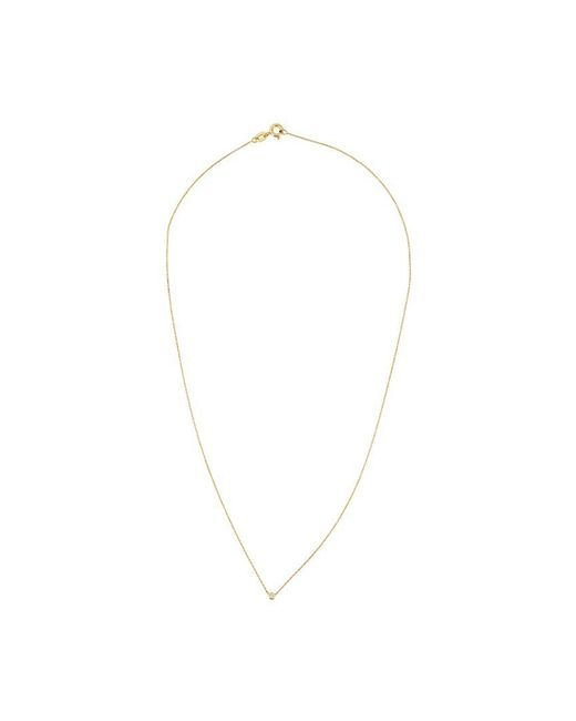 Wouters & Hendrix | Metallic Single Diamond Necklace | Lyst