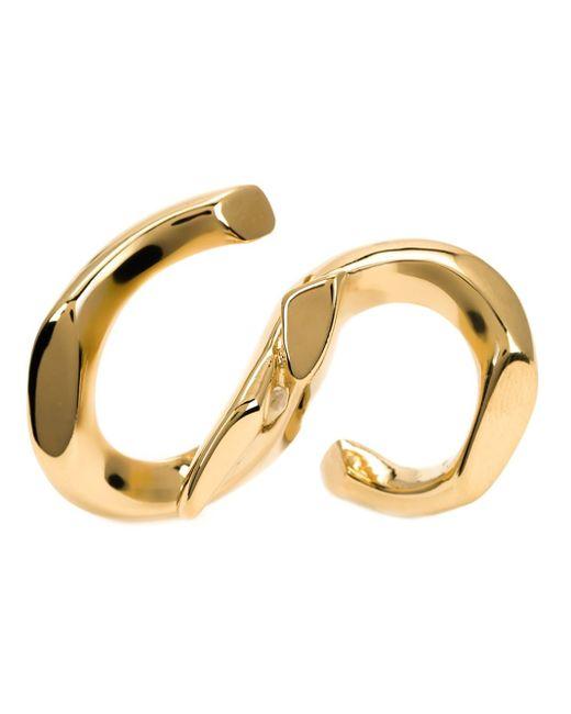Annelise Michelson | Metallic 'déchainée' Double Ring | Lyst