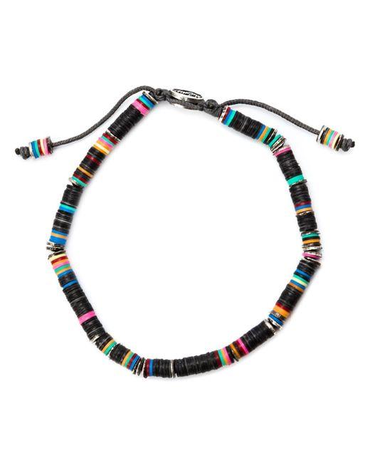 M. Cohen | Black Rondelle Bracelet | Lyst