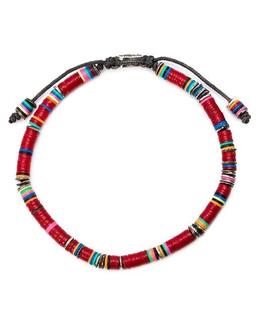 M Cohen   Brown Beaded Bracelet for Men   Lyst