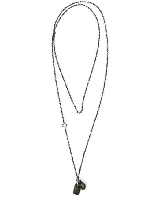 Werkstatt:münchen | Metallic Werkstatt:münchen Tag Pendant Necklace | Lyst