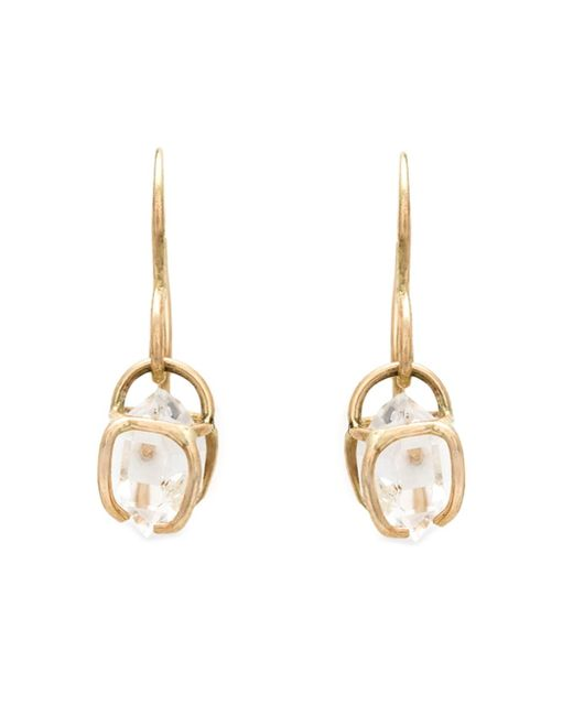Melissa Joy Manning | Metallic Herkimer Diamond Drop Earrings | Lyst