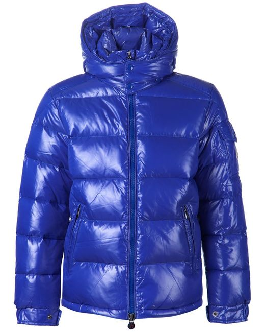 Moncler | Blue 'maya' Padded Jacket for Men | Lyst