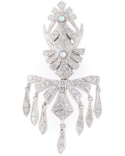 Joelle Jewellery | Metallic Joëlle Jewellery Pavé Diamond Earring | Lyst
