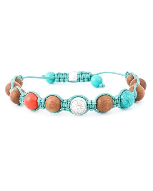 Shamballa Jewels | Blue Coral Diamond Beaded Bracelet | Lyst