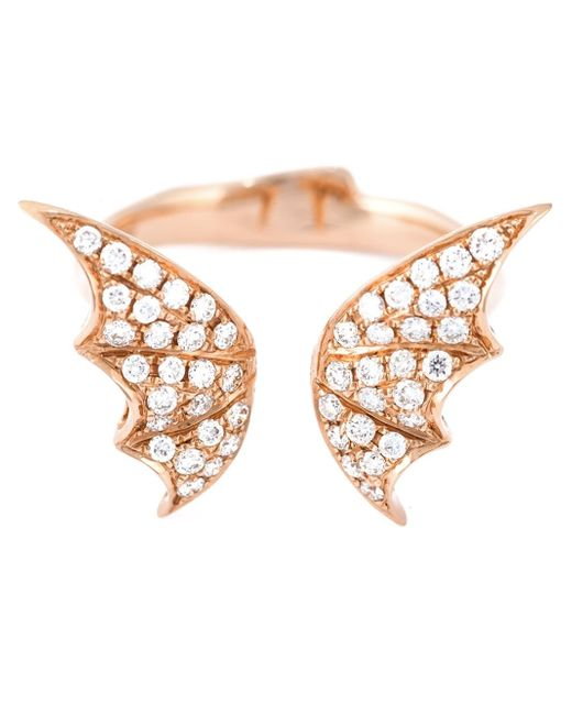 Stephen Webster | Metallic Bat Wings Diamond Ring | Lyst