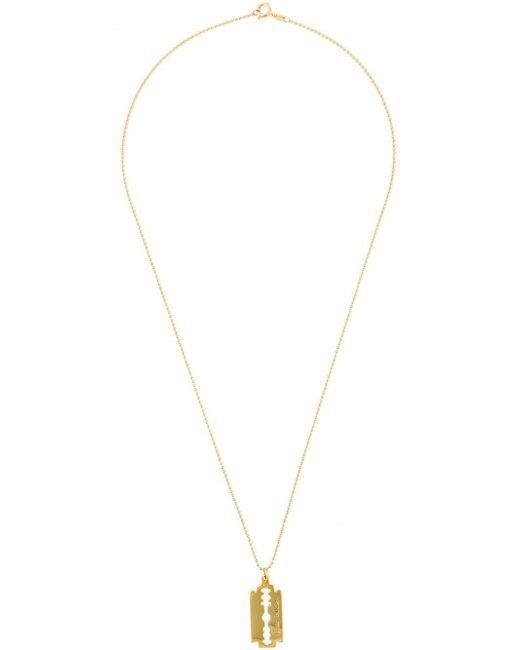 True Rocks | Metallic 'razor Blade' Necklace | Lyst