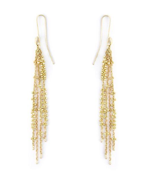 Natasha Collis   Metallic Waterfall Pin Earrings   Lyst