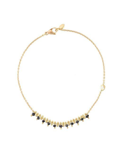Natasha Collis | Metallic Black Diamond Bracelet | Lyst