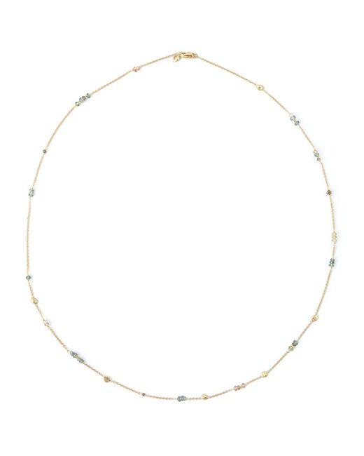 Natasha Collis   Metallic Sapphire Single Chain Necklace   Lyst