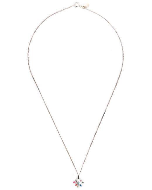 Nektar De Stagni | Gray Spike Pearl Pendant Necklace | Lyst