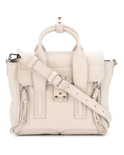 3.1 Phillip Lim | White Mini Pashli Leather Shoulder Bag | Lyst
