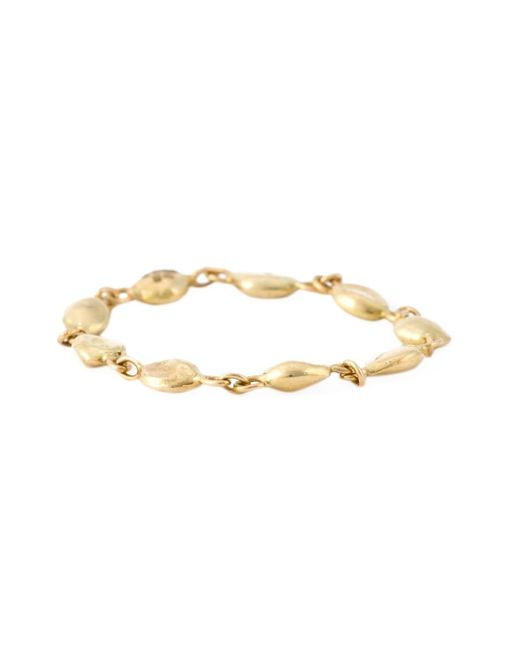 Natasha Collis | Metallic Nugget Single Diamond Ring | Lyst