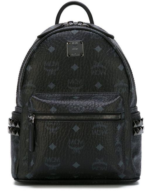 MCM | Blue 'stark' Backpack for Men | Lyst