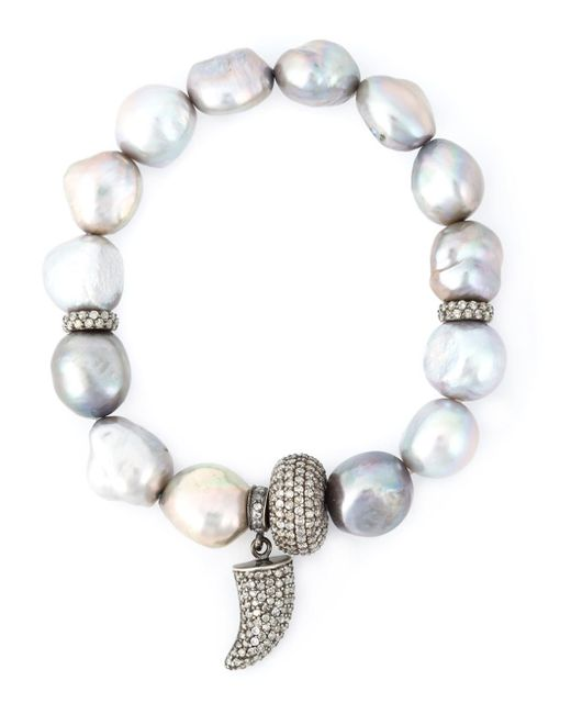Loree Rodkin | Metallic Embellished Bracelet | Lyst