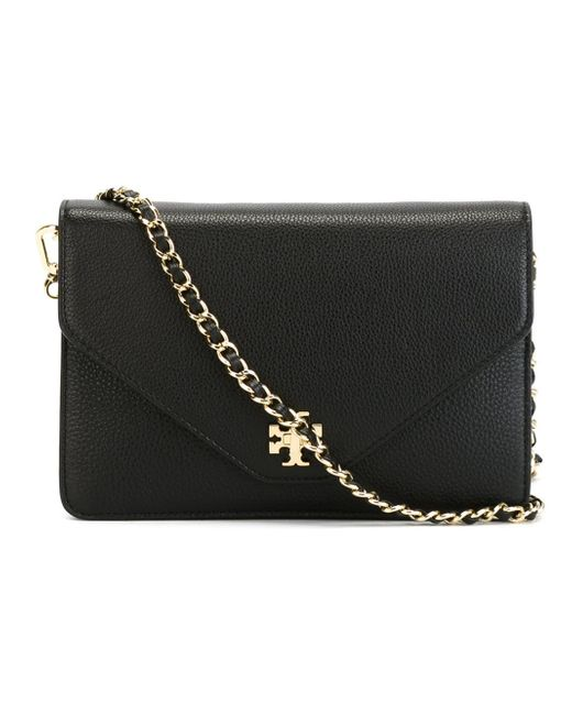 Tory Burch | Black Kira Clutch | Lyst