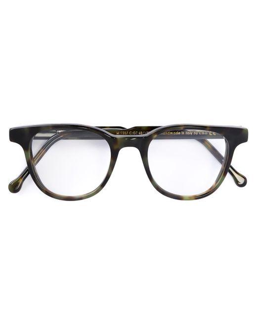 Cutler & Gross | Green Rectangular Frame Glasses | Lyst