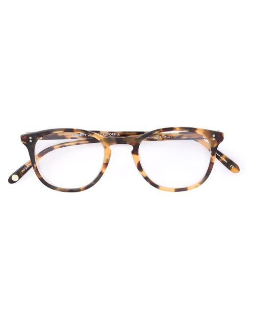 Garrett Leight | Brown 'kinney' Glasses | Lyst