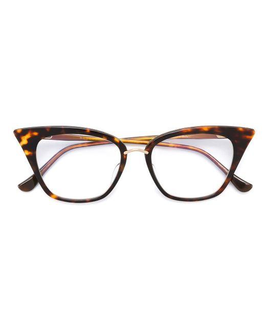 Dita eyewear 'rebella' Glasses in Multicolor (BROWN) | Lyst Dita Eyewear