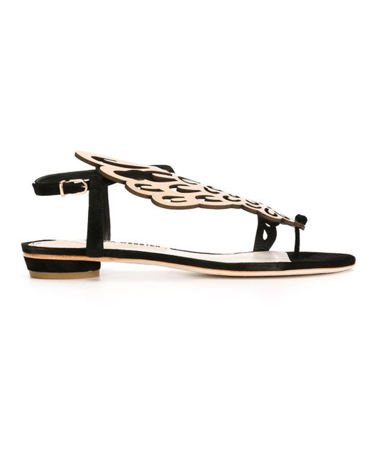 Sophia Webster | Brown 'seraphina' Metallic Leather Sandal | Lyst