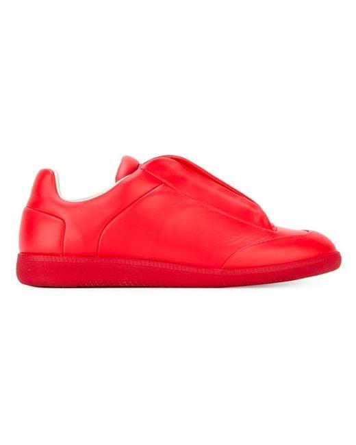 Maison Margiela | Red Future Low-top Sneaker for Men | Lyst
