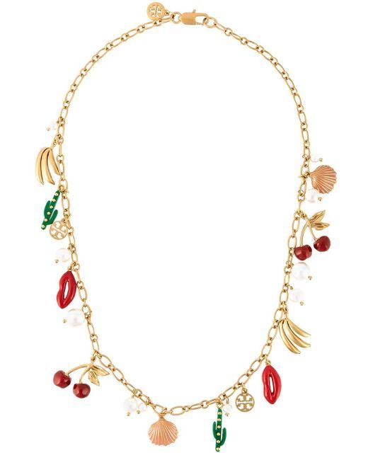 Tory Burch | Multicolor 'sylvan' Necklace | Lyst