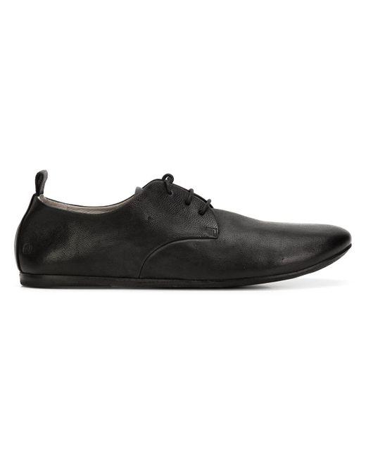 Marsèll | Black Marsèll 'strapiatta' Derby Shoes for Men | Lyst