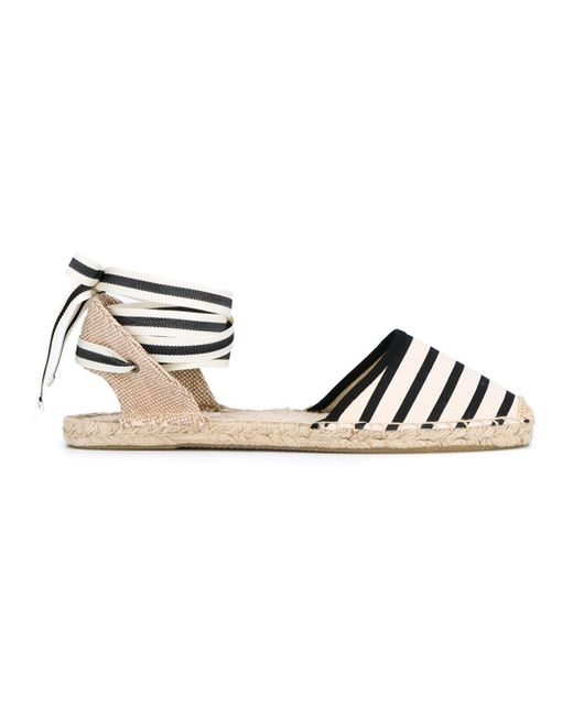 Soludos | White Lace-up Espadrille Sandal | Lyst
