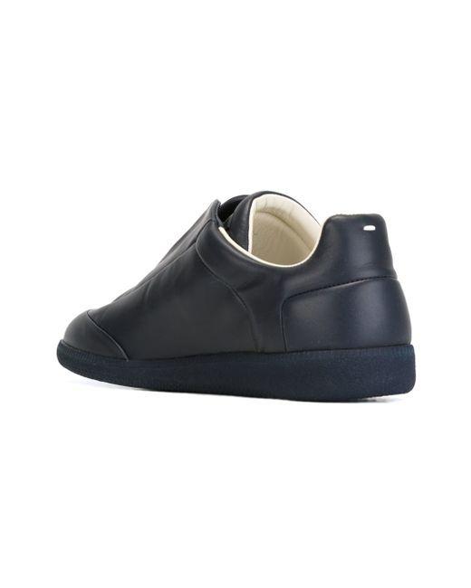 maison margiela 39 future 39 sneakers in black for men blue lyst. Black Bedroom Furniture Sets. Home Design Ideas