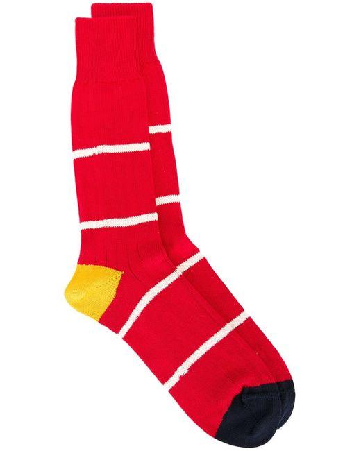 Paul Smith | Gray Striped Socks for Men | Lyst