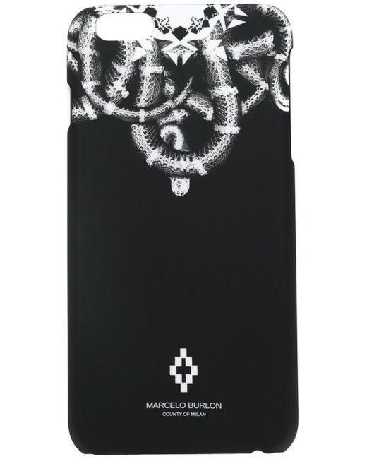 Marcelo Burlon   Black 'aconcagua' Iphone 6 Plus Case for Men   Lyst