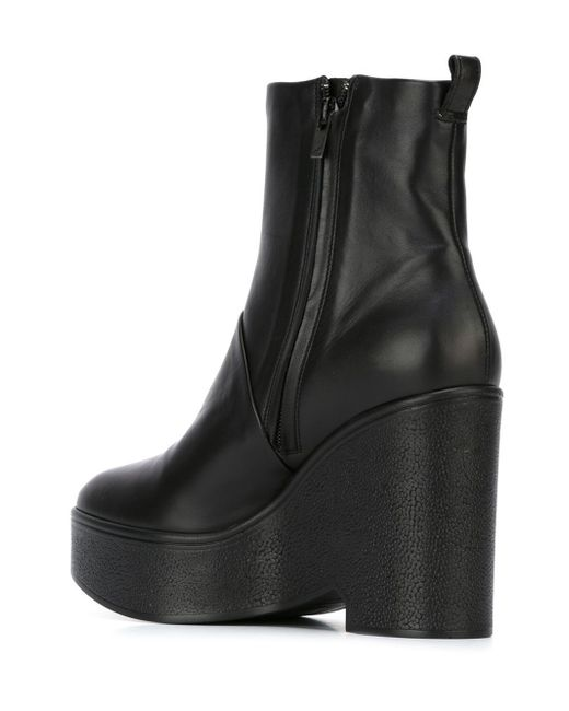 robert clergerie bisout wedge boots