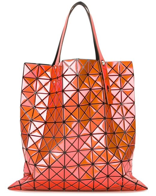 Bao Bao Issey Miyake   Multicolor Geometric Panel Tote   Lyst