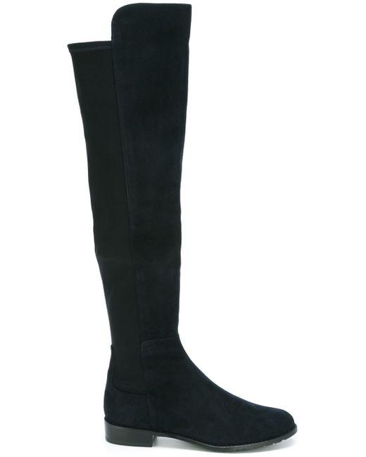 Stuart Weitzman   Blue Ankle Boots   Lyst