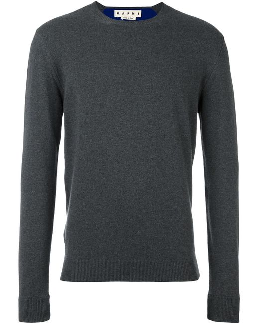 Marni   Gray Sweater In Grey for Men   Lyst