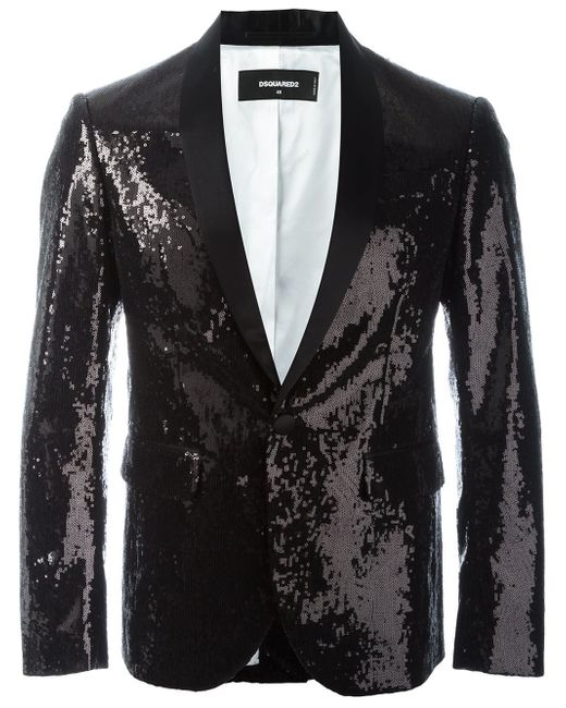 Men's Shiny Sequins Suit Jacket Blazer One Button Tuxedo for Party,Wedding,Banquet,Prom. from $ 54 99 Prime. out of 5 stars Deluxe Men's Black Sequin Jacket, Black, Medium Costume $ 42 67 Prime. out of 5 stars kayamiya. Women Sequin Jacket Long Sleeve Sparkly Zipper Front Blazer Bomber Jacket.