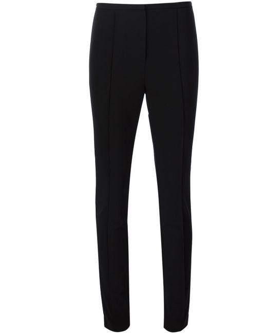 Alexander Wang | Black Seam Detailed Skinny Trousers | Lyst