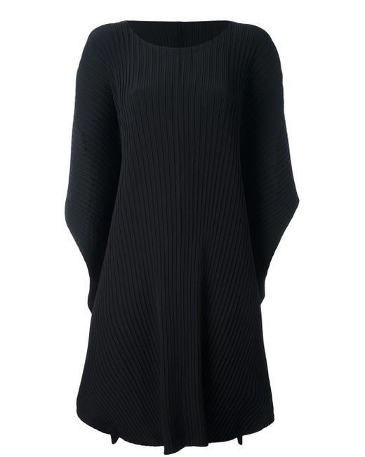 Issey Miyake   Black 'earth Pleat Solid' Dress   Lyst