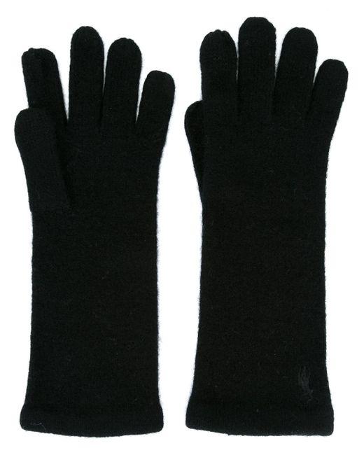 Polo Ralph Lauren | Black Wool-blend Gloves | Lyst