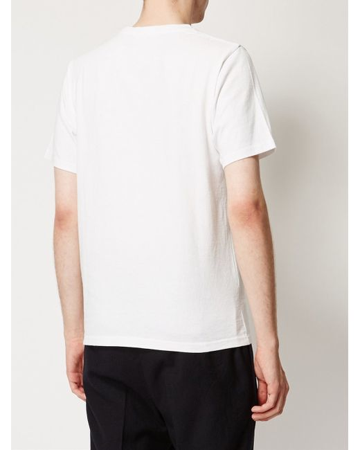 undercover 39 instant calm 39 print t shirt in white for men
