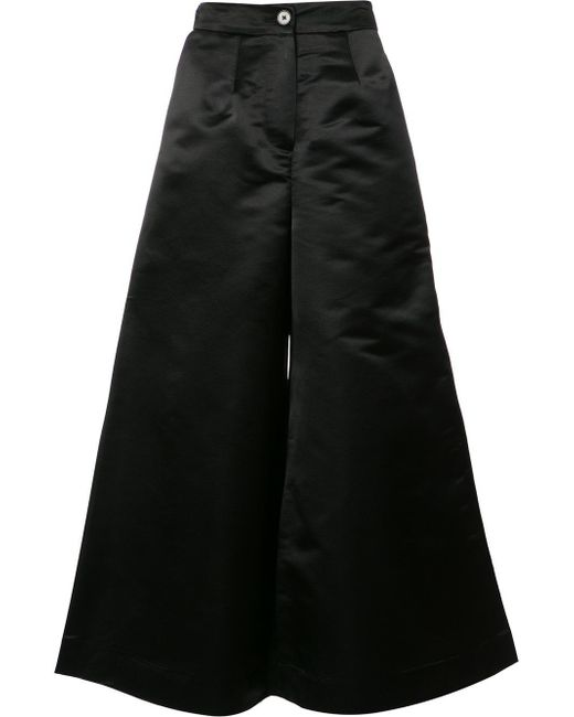 TOME | Black Wide-legged Trousers | Lyst