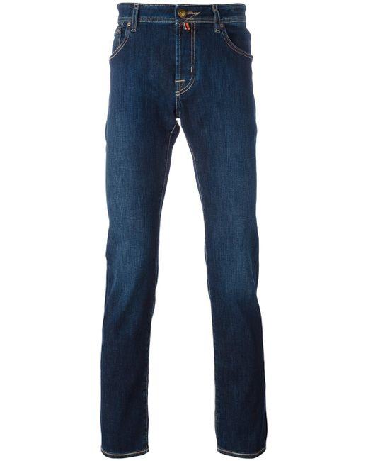 Jacob Cohen | Blue Straight Leg Jeans for Men | Lyst